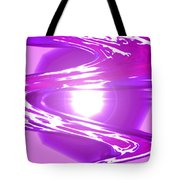 Moveonart I Call Forth The Violet Wave Tote Bag