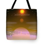Moveonart In Light Of Believing Tote Bag
