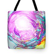 Moveonart In Light We Trust Tote Bag