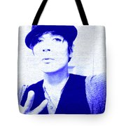 Moveonart Jacob Blue Tote Bag