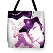 Moveonart Jacob In His Underground Art Gallery Tote Bag