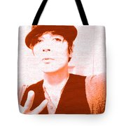 Moveonart Jacob Orange Tote Bag