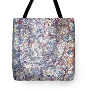Moveonart Just Thinking Color Therapy With Texture Tote Bag