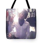 Moveonart Light Love Peace Art  Tote Bag