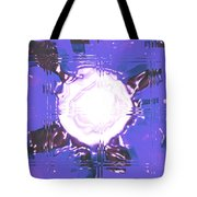 Moveonart Light Saturation With Blue Tote Bag