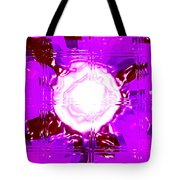 Moveonart Light Saturation With Pink Tote Bag