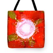 Moveonart Light Saturation With Red Tote Bag