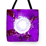 Moveonart Light Saturation With Violet  Tote Bag