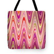 Moveonart Lively Waves Of Joy Tote Bag