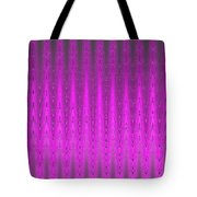 Moveonart Mysterious Violet Curtain Tote Bag
