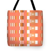 Moveonart Orange Interactive Spiritual Solutions Tote Bag