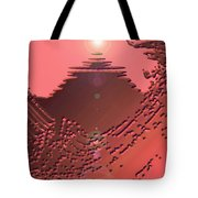 Moveonart Orange Memories Four Tote Bag