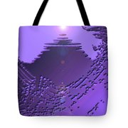 Moveonart Purple Memories Two Tote Bag