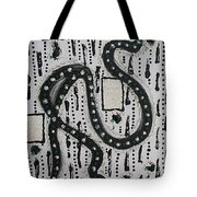Moveonart Raw Swan On A Walk Tote Bag