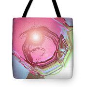 Moveonart Renewing  Mind Clear Thought Therapy   Red Tote Bag