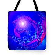 Moveonart Telepathic People Planet Earth Tote Bag
