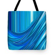 Moveonart The Blue Wave Tote Bag