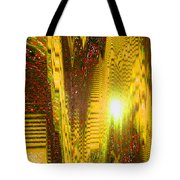 Moveonart The Light Shall Speak Tote Bag