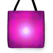 Moveonart The Power Being Pink Tote Bag