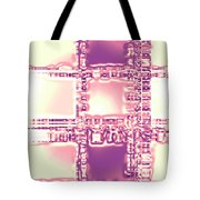 Moveonart Thoughtful Intersections Tote Bag