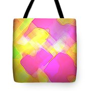 Moveonart Try Not Being Shy Tote Bag