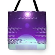 Moveonart Violet Light Of Charitable Consciousness Tote Bag