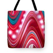 Moveonart Wave Of Enlightenment Three Tote Bag