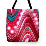 Moveonart Wave Of Enlightenment Three Tote Bag