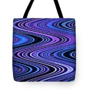 Moveonart Waves In Peaceful Movement Tote Bag