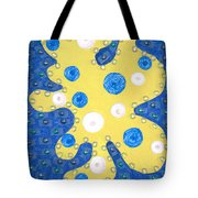 Moveonart Yellow Amoeba Tote Bag
