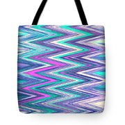 Moveonart Zig Zag Therapy One Tote Bag