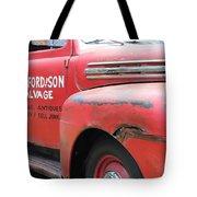 Movie Car Tote Bag
