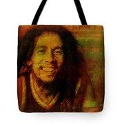 Movie Icons - Bob Marley I Tote Bag