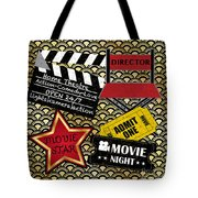 Movie Night-jp3613 Tote Bag