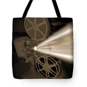 Movie Projector  Tote Bag by Mike McGlothlen