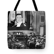 Movie Theater, 1920s Tote Bag