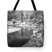 Moving Around The Bend Tote Bag