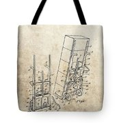 Moving Dolly Patent Tote Bag