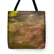 Moving In The Wind Tote Bag
