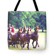 Moving Quickly Tote Bag