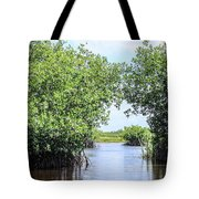 Moving The Glades Of Roatan Tote Bag