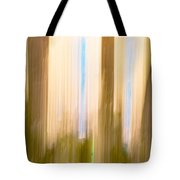Moving Trees 15 Gold Brown Tote Bag