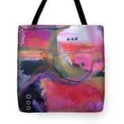 Moving Universe  Tote Bag