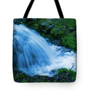Moving Water Can Move Your Soul Tote Bag