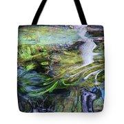 Moving Water Tote Bag