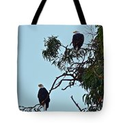 Mr. And Mrs. Bald Tote Bag
