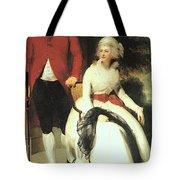 Mr And Mrs John Julius Angerstein  Tote Bag