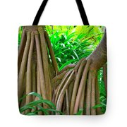 Mr And Mrs Pandanus Tote Bag
