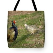 Mr And Mrs Pheasant Tote Bag