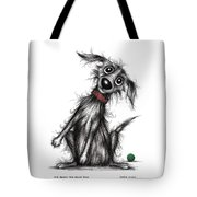Mr Bark The Noisy Dog Tote Bag